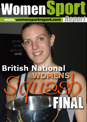 British national Women's Squash Final, Manchester, UK