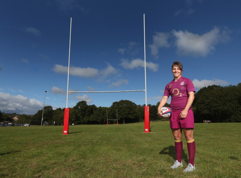 England Rugby Captain talks to WSR