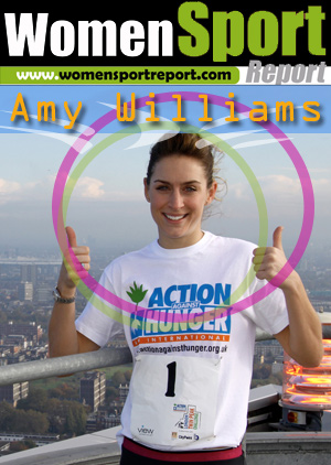 Amy Williams on the London Twin Peak Challenge
