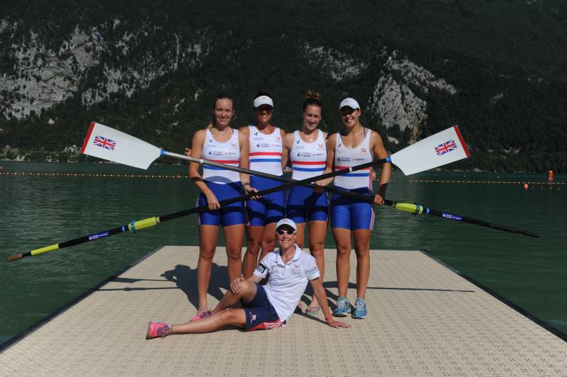 Rowing for Success - GB's only Female Coach