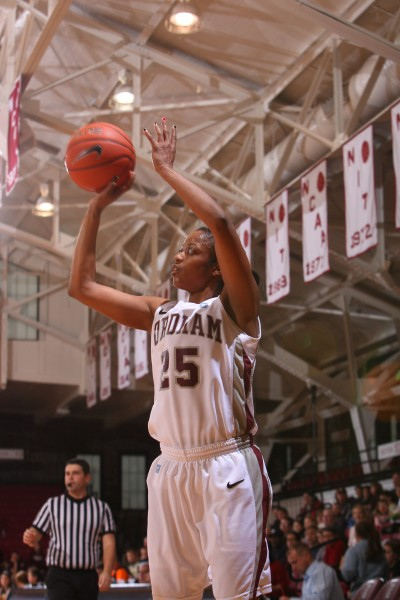 Four Fordham Rams Women's Hoopsters Garner All-Conference Honors