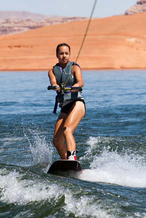 Cable Wakeboarding - attractive shape and glorious emotions