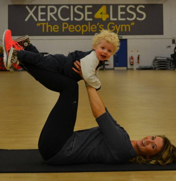 XERCISE4LESS WORKING MUM HAS NEW 'BABY'