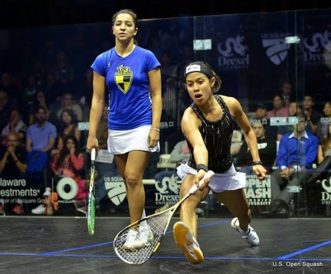 Women sport news - David & El Sherbini To Contest US Open in Philadelphia