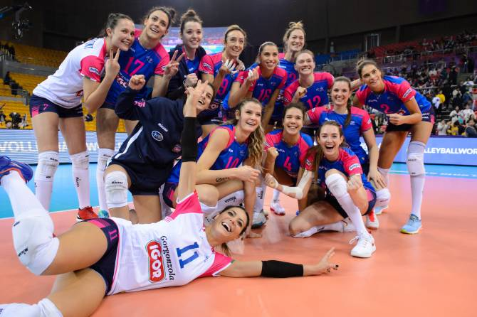 Brakocevic powers second five-set win for Novara in Shaoxing