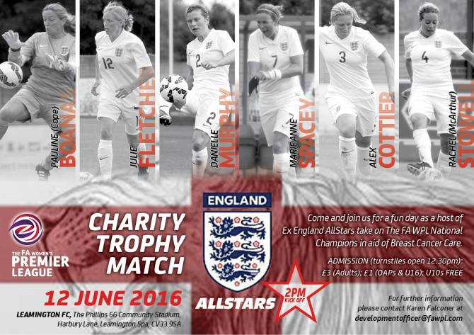 Women sport news - FA Women's Premier League Charity Trophy Match