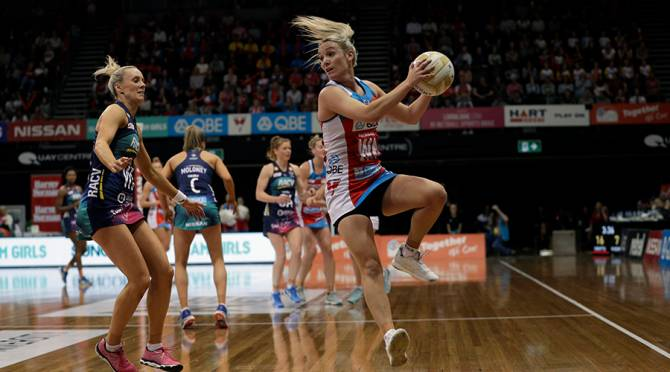 Women sport news - RE-SIGNED SUNCORP SUPER NETBALL PLAYERS CONFIRMED BY LEAGUE