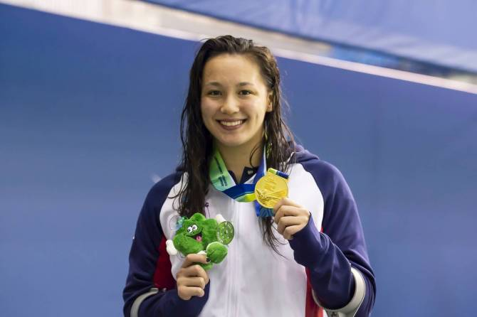 Alice Tai named Allianz Athlete of the Month