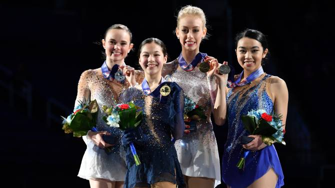 Women sport news - Alysa Liu Claims Second U.S. Title in Greensboro