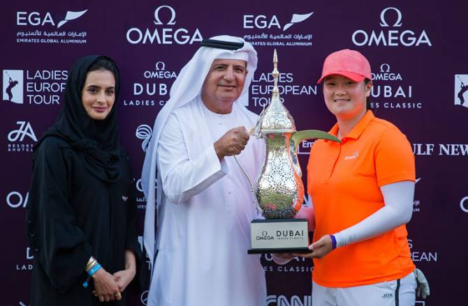 Women sport news - American Yin wins Omega Dubai Ladies Classic in riveting finish