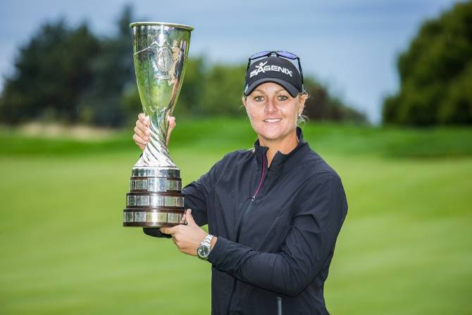 Women sport news - Anna Nordqvist wins The Evian Championship