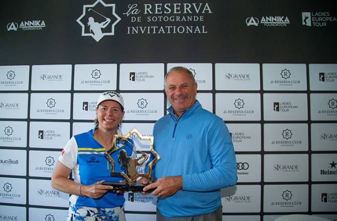 Women sport news - Annika Back to Business at La Reserva de Sotogrande Invitational