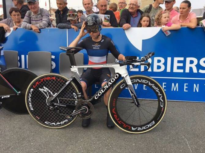 Women sport news - Audrey Cordon-Ragot Wins Chrono Des Nations Time Trial