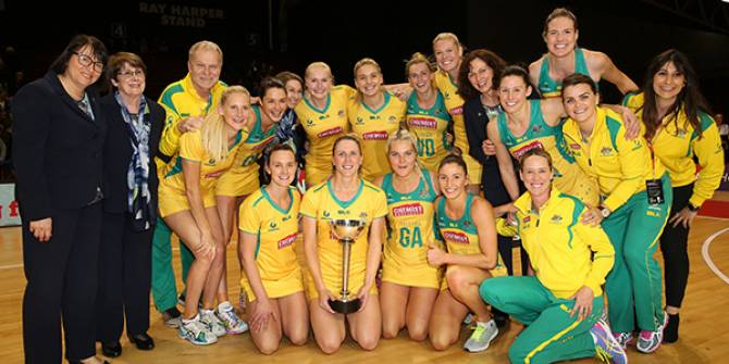 Women sport news - Aussie Diamonds retain Constellation Cup