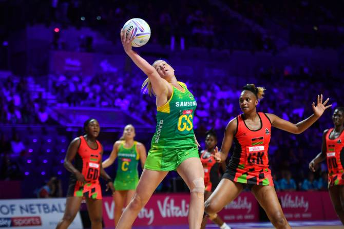 Women sport news - Australia defeat Malawi in blistering form