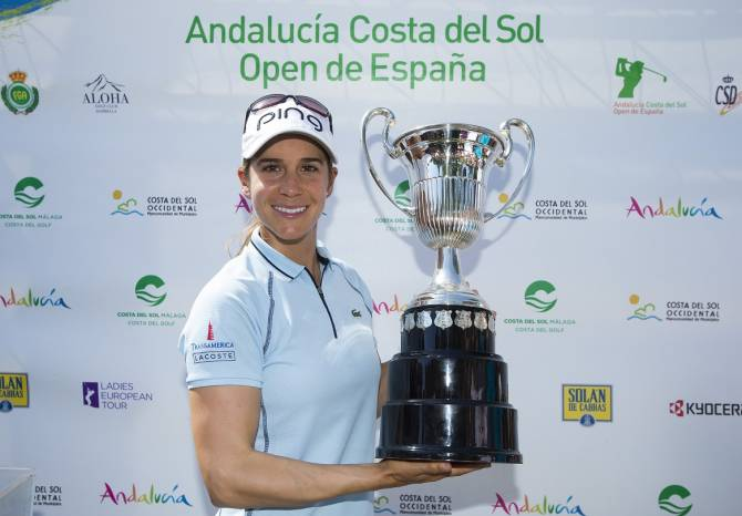 Women sport news - Azahara Muñoz Makes History at Home Open