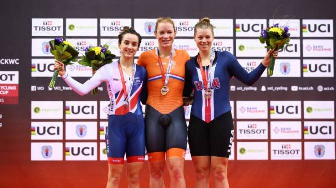 Women sport news - Barker wins double silver for Great Britain Cycling Team