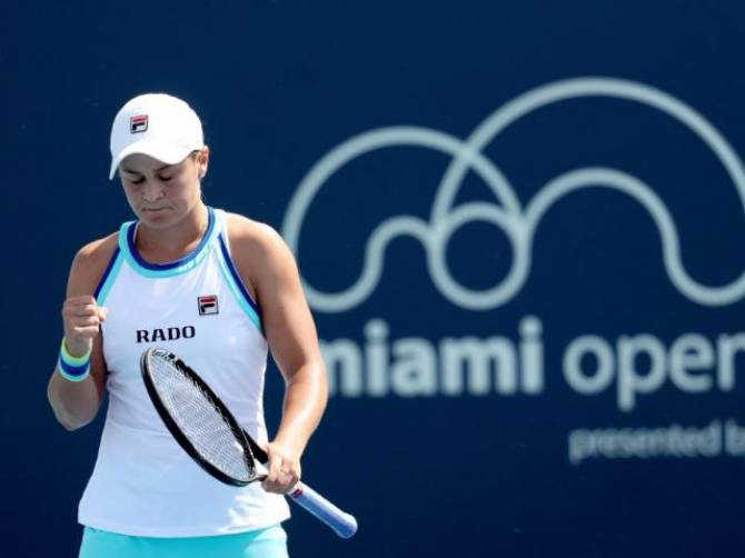 Women sport news - Barty Books Spot in Quarterfinals, Joined by Kvitova, Kontaveit, and Hsieh