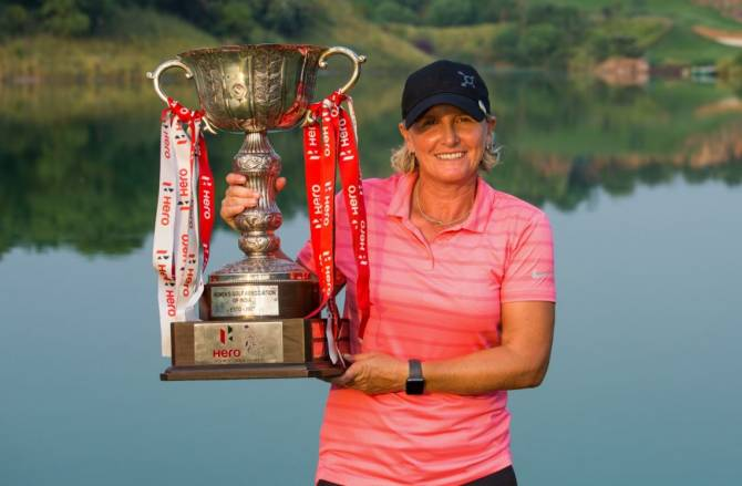 BECKY MORGAN WINS THE HERO WOMEN'S INDIAN OPEN FOR FIRST CAREER TITLE