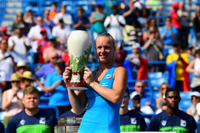 Women sport news - Bertens blasts Halep for Cincinnati Final