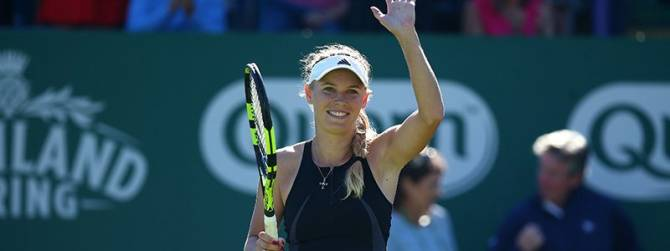 Women sport news - Caroline Wozniacki steps up to defend Eastbourne title