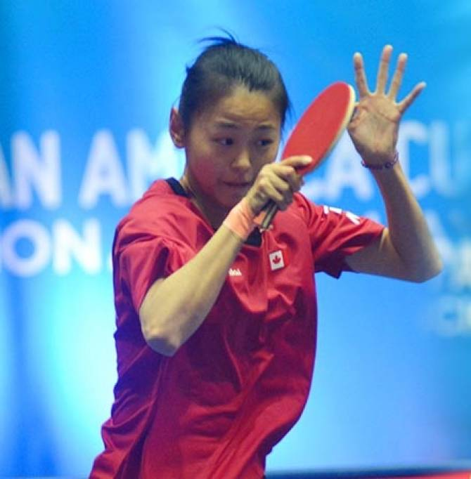 Women sport news - Champion Zhang Mo Wins Pan American Cup to qualify for 2018 ITTF World Cup