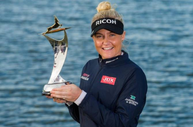 Women sport news - Charley Hull wins LET season opener in Abu Dhabi