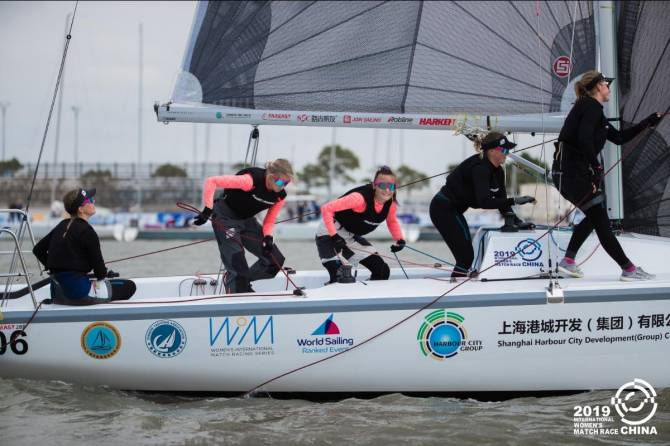 Women sport news - Courtois (FRA) Wins the WIM Series in Shanghai