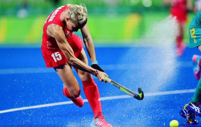 Women sport news - Danson scores 50th GB goal in defeat in Rosario