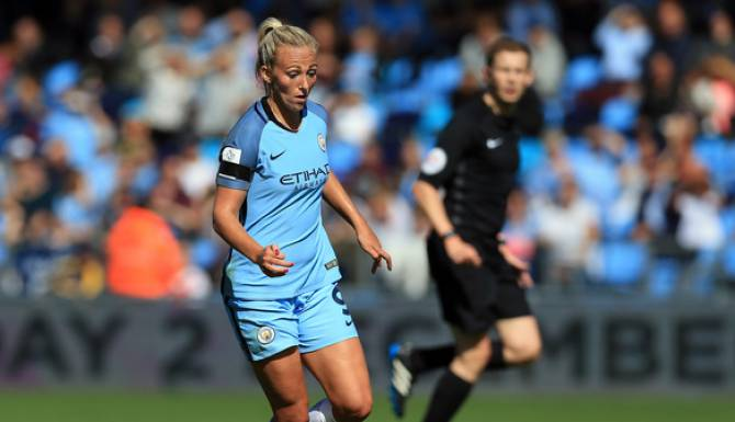 Women sport news - Duggan hat-trick sees Man City ease past Bristol City