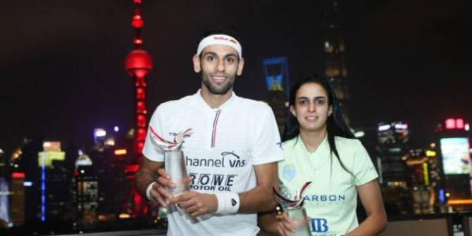 Women sport news - Egypt's El Tayeb and ElShorbagy Beat World No.1s to Lift China Squash Open Titles