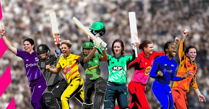 Women sport news - Eight New Marquee Players Announced For The Hundred