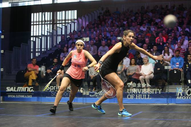 Women sport news - El Tayeb and King Seeded to Meet in Cleveland Classic Final