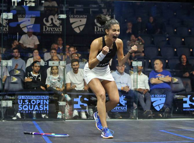 Women sport news - Elaraby Scalps King to Reach Maiden U.S. Open Quarter-Final