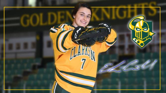 Women sport news - Elizabeth Giguere Wins 23rd Patty Kazmaier Memorial Award