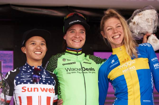 Emilia Fahlin Finishes Tour Of Norway Second Overall After Third On Final Stage