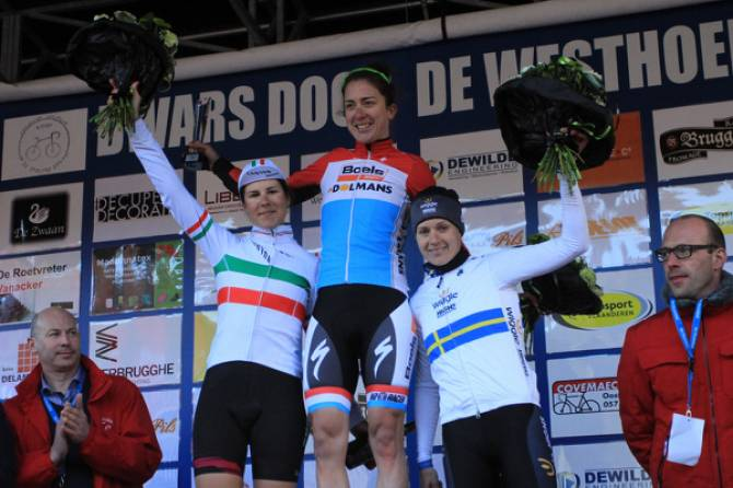 Women sport news - Emma Johansson An Attacking Third In Dwars Door De Westhoek