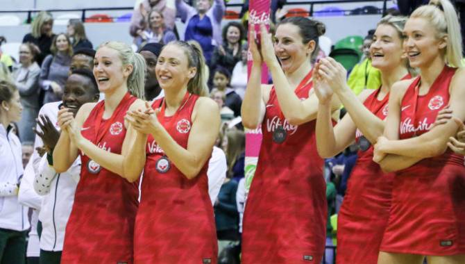 England squad for the Vitality Netball World Cup revealed