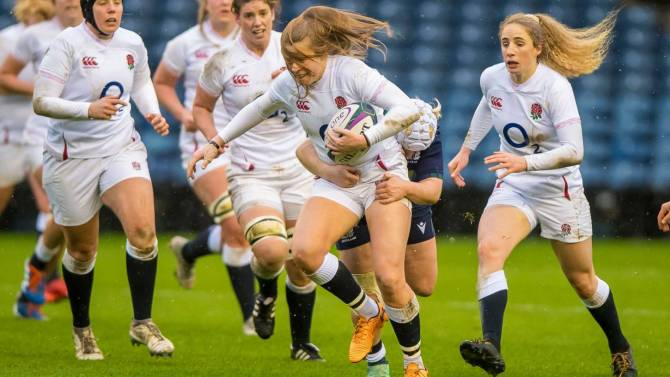Women sport news - ENGLAND WOMEN MAINTAIN PERFECT START WITH VICTORY OVER SCOTLAND