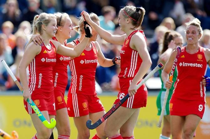 Women sport news - England's women's team begin EuroHockey defence with 4-1 win over Ireland