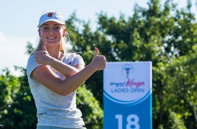 Women sport news - Engström Shines in LET Finale