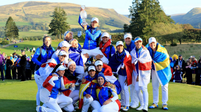 Women sport news - EUROPE WINS SOLHEIM CUP AFTER SENSATIONAL FINISH