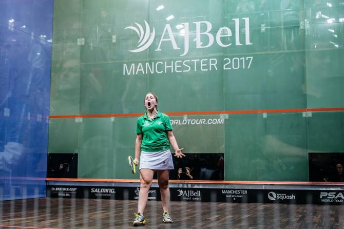 Women sport news - Evans Sends England No.1 Massaro to a Shock Defeat at the  PSA World Championships
