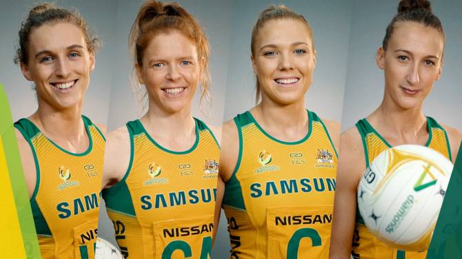Women sport news - FOUR NAMED AS NETBALL WORLD CUP RESERVES