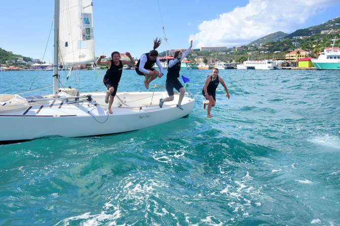 Women sport news - France's Courtois Wins 2018 WIM Series Finale at Carlos Aguilar Match Race