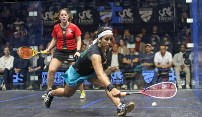 Women sport news - FRANCE'S SERME BEATS SOBHY TO END US HOPES