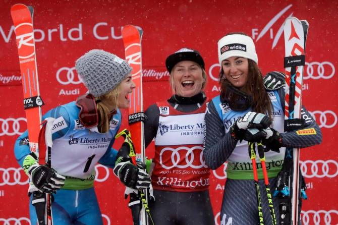 Women sport news - FRANCE'S WORLEY WINS GS IN VERMONT; GRENIER LANDS FIRST GS TOP 30