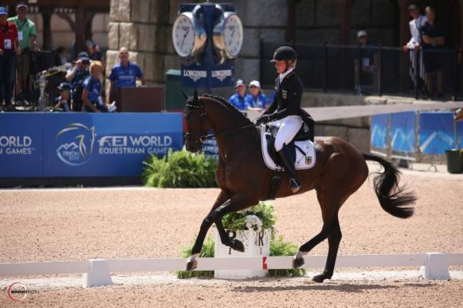 Women sport news - Germany Wins Team Gold at the FEI World Games