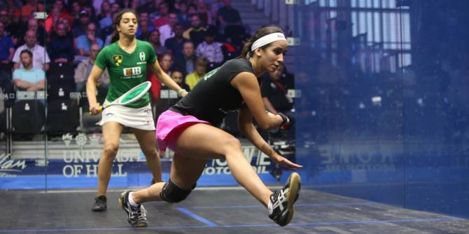 Women sport news - Gohar Claims Women's World No.1 Spot Following El Welily Retirement