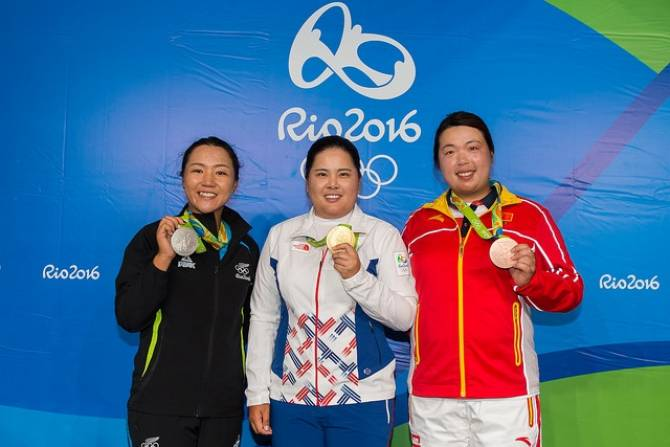 Women sport news - Gold for Korea's Inbee Park